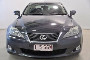 2009 Lexus IS250 GSE20R MY10 Prestige Grey 6 Speed Sports Automatic Sedan