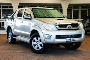 2010 Toyota Hilux KUN26R MY10 SR5 Silver 4 Speed Automatic Utility Melville Melville Area Preview