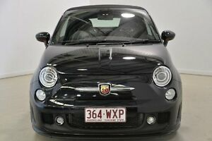 2016 Abarth 595 Series 3 Dualogic Black 5 Speed Sports Automatic Single Clutch Convertible Mansfield Brisbane South East Preview