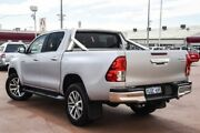 2015 Toyota Hilux GUN126R SR5 Double Cab Silver 6 Speed Sports Automatic Utility Bayswater Bayswater Area Preview