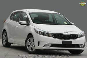 2016 Kia Cerato YD MY17 S Clear White 6 Speed Auto Seq Sportshift Hatchback Mount Gravatt Brisbane South East Preview