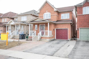 Fully Detached 3 Bdr located in Heart of Brampton, Fresh Painted