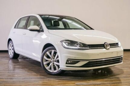 2017 Volkswagen Golf 7.5 MY18 110TDI DSG Highline White 7 Speed Sports Automatic Dual Clutch Myaree Melville Area Preview
