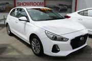 2017 Hyundai i30 PD MY18 Active Polar White 6 Speed Sports Automatic Hatchback Cleveland Redland Area Preview