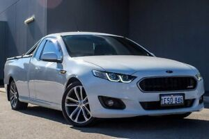 2014 Ford Falcon FG X XR6 Ute Super Cab White 6 Speed Sports Automatic Utility Osborne Park Stirling Area Preview
