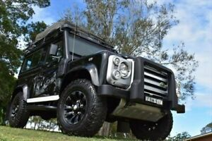 2012 Land Rover Defender 90 12MY Black 6 Speed Manual Wagon