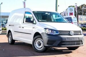 2019 Volkswagen Caddy 2KN MY19 TDI250 Maxi DSG Candy White 6 Speed Sports Automatic Dual Clutch Van