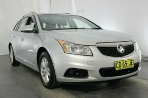 2013 Holden Cruze JH Series II MY14 CD Sportwagon Silver 6 Speed Sports Automatic Wagon Maryville Newcastle Area Preview