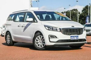 2018 Kia Carnival YP MY19 S White 8 Speed Sports Automatic Wagon Rockingham Rockingham Area Preview