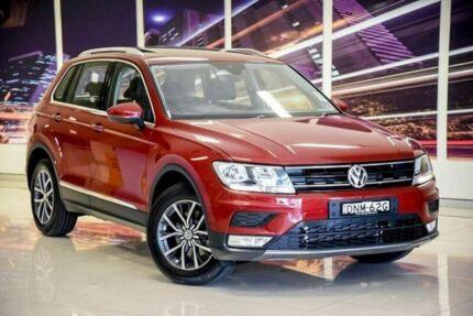 2017 Volkswagen Tiguan 5N MY17 110TSI DSG 2WD Comfortline 6 Speed Sports Automatic Dual Clutch Wagon