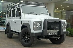 2014 Land Rover Defender 110 14MY White 6 Speed Manual Hardtop Doncaster Manningham Area Preview