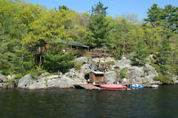 Muldrew Lake, Gravenhurst Cottage  THIS AUGUST!