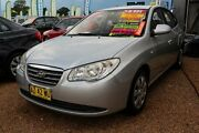 2008 Hyundai Elantra HD SLX Silver 4 Speed Automatic Sedan Minchinbury Blacktown Area Preview