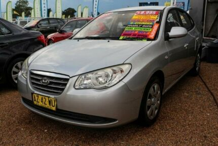 2008 Hyundai Elantra HD SLX Silver 4 Speed Automatic Sedan Minchinbury Blacktown Area Preview