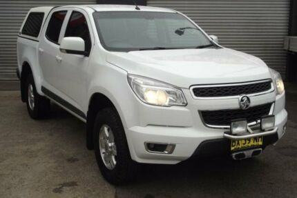 2013 Holden Colorado RG MY14 LT (4x2) White 6 Speed Automatic Crew Cab Pickup Riverstone Blacktown Area Preview