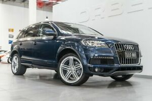 2014 Audi Q7 MY14 3.0 TDI Quattro Atlantis Blue 8 Speed Automatic Tiptronic Wagon Port Melbourne Port Phillip Preview