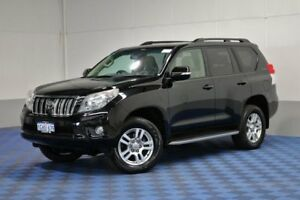 2011 Toyota Landcruiser Prado KDJ150R 11 Upgrade Kakadu (4x4) Black 5 Speed Sequential Auto Wagon