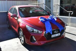 2018 Hyundai i30 PD MY18 Active Red 6 Speed Sports Automatic Hatchback Pennant Hills Hornsby Area Preview