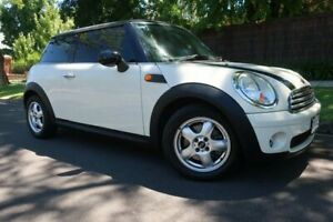 2008 Mini Hatch R56 Cooper White 6 Speed Manual Hatchback Prospect Prospect Area Preview