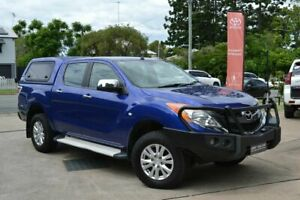 2013 Mazda BT-50 XTR Blue 6 Speed Automatic Dual Cab Beaudesert Ipswich South Preview