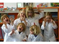 Mini Professors Science Classes West Lancs, Wigan, St Helens for 2-5years