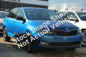 2018 Skoda Rapid NH MY19 Spaceback DSG White 7 Speed Sports Automatic Dual Clutch Hatchback Nunawading Whitehorse Area Preview