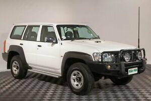 2014 Nissan Patrol Y61 GU 9 DX White 5 Speed Manual Wagon Acacia Ridge Brisbane South West Preview