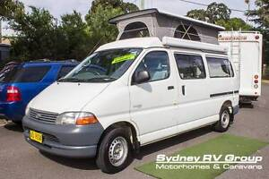 2001 Toyota Hiace Pop Top, Great Multi Purpose RV, U3361 Penrith Penrith Area Preview