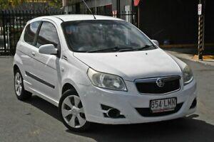 2008 Holden Barina TK MY08 White 5 Speed Manual Hatchback
