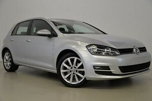 2013 Volkswagen Golf VII 110TDI DSG Highline Silver 6 Speed Sports Automatic Dual Clutch Hatchback Mansfield Brisbane South East Preview