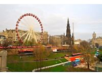 Job in Edinburgh Christmas Market 2017