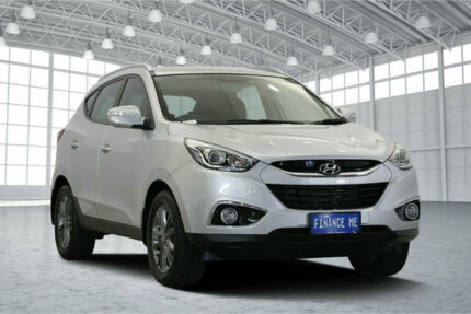 2014 Hyundai ix35 LM3 MY14 Trophy Sleek Silver 6 Speed Sports Automatic Wagon Victoria Park Victoria Park Area Preview