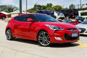 2016 Hyundai Veloster FS5 Series II Coupe D-CT Red 6 Speed Sports Automatic Dual Clutch Hatchback Myaree Melville Area Preview