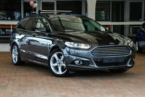 2018 Ford Mondeo MD 2018.25MY Trend PwrShift Grey 6 Speed Sports Automatic Dual Clutch Wagon