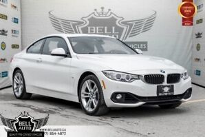 2016 BMW 4 Series 428i xDrive, NAVI, BACK-UP CAM, SUNROOF, SENSORS