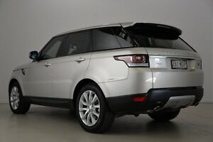 2013 Land Rover Range Rover Sport L494 MY14 SDV6 CommandShift HSE Silver 8 Speed Sports Automatic Mansfield Brisbane South East Preview