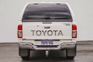 2014 Toyota Hilux KUN26R MY14 SR5 Double Cab White 5 Speed Manual Utility Bellevue Swan Area Preview