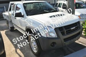 2010 Isuzu D-MAX MY10 SX Space Cab White 5 Speed Manual Cab Chassis Osborne Park Stirling Area Preview