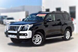 2012 Toyota Landcruiser Prado GRJ150R Kakadu Black 5 Speed Sports Automatic Wagon Pakenham Cardinia Area Preview