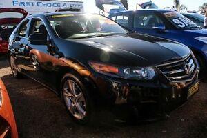 2010 Honda Accord Euro CU Black Automatic Sedan Minchinbury Blacktown Area Preview