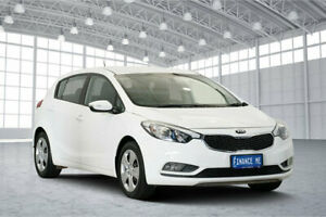 2015 Kia Cerato YD MY15 S White 6 Speed Sports Automatic Hatchback Victoria Park Victoria Park Area Preview