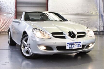 2005 Mercedes-Benz SLK280 R171 MY06 Silver 7 Speed Automatic Roadster Myaree Melville Area Preview