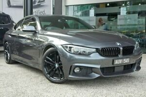 2017 BMW 4 Series F32 LCI 430i M Sport Grey 8 Speed Sports Automatic Coupe South Melbourne Port Phillip Preview