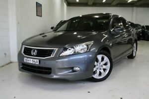 2008 Honda Accord 8th Gen V6 Luxury Grey 5 Speed Sports Automatic Sedan Castle Hill The Hills District Preview
