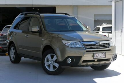 2008 Subaru Forester S3 MY09 XS AWD Gold 4 Speed Sports Automatic Wagon Robina Gold Coast South Preview