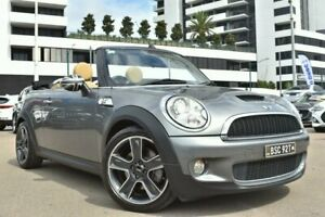 2010 Mini Cabrio R57 Cooper S Convertible 2dr Steptronic 6sp 1.6T [MY10] Grey Sports Automatic Liverpool Liverpool Area Preview
