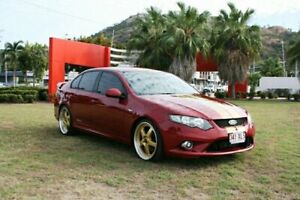 2009 Ford Falcon FG XR6 Turbo Red 6 Speed Manual Sedan Townsville Townsville City Preview