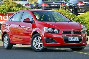 2014 Holden Barina Red Manual Sedan Narre Warren Casey Area Preview