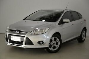 2012 Ford Focus LW MKII Trend PwrShift Silver 6 Speed Sports Automatic Dual Clutch Hatchback Mansfield Brisbane South East Preview