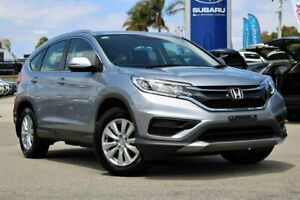 2016 Honda CR-V RM Series II MY17 VTi 4WD Silver 5 Speed Sports Automatic Wagon Greenfields Mandurah Area Preview